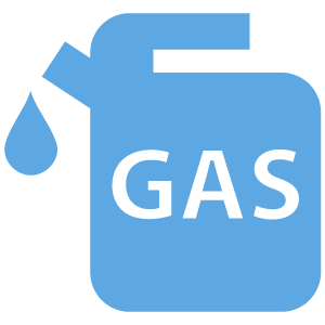 Gasoline Fuel Icon